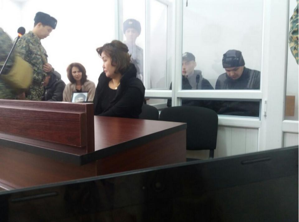 Подсудимые Абденов и Кабельдинов