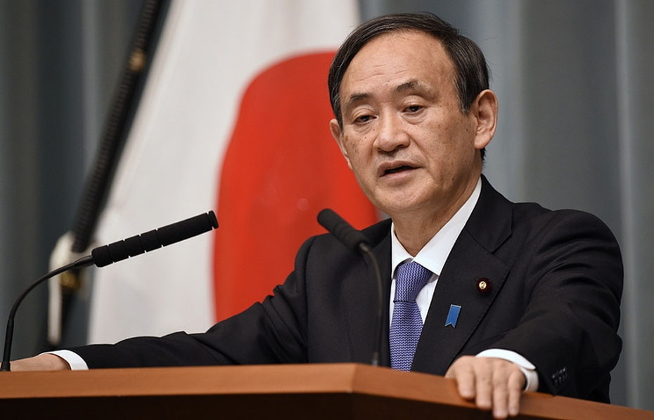 Генсек правительства Японии Ёсихидэ Суга