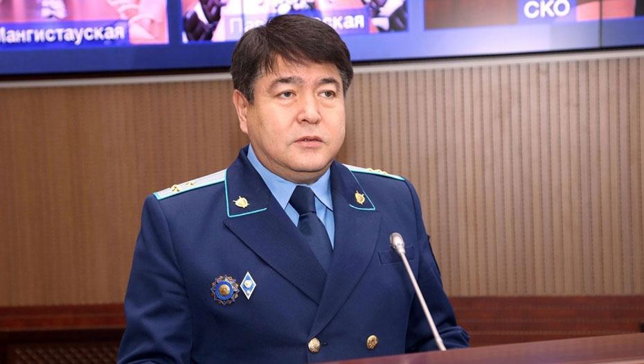 Прокурором столицы назначен Булат Дембаев
