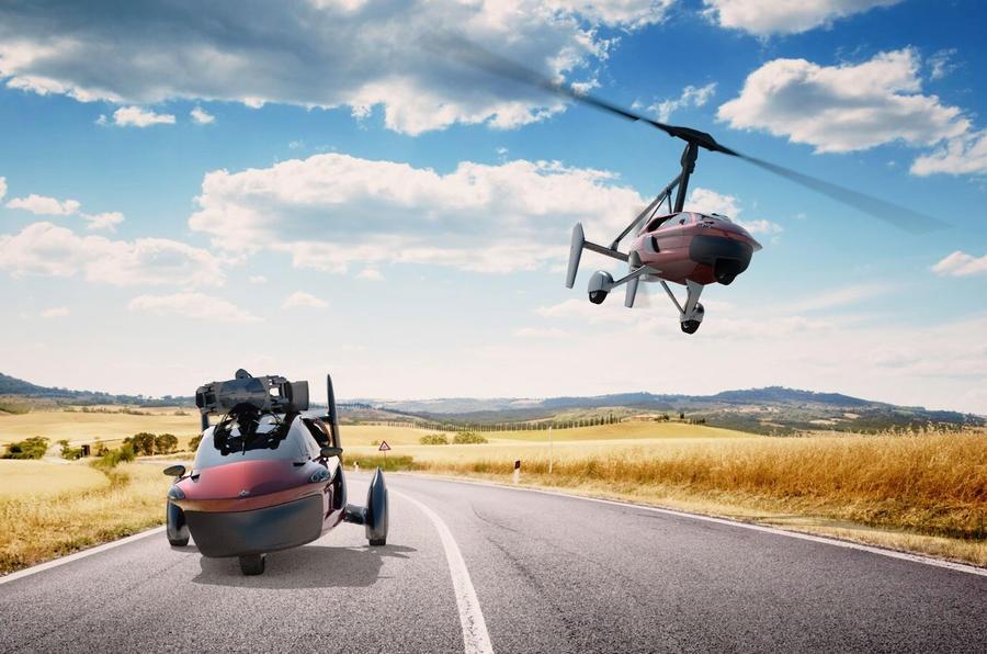 Первый в мире серийный летающий автомобиль
