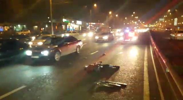 Сбитого мужчину переехала ехавшая следом машина