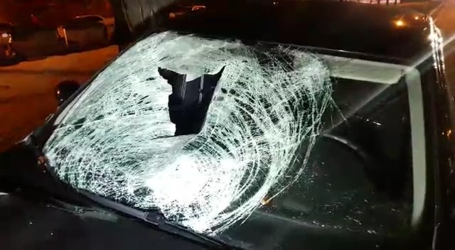 Skoda Octavia сбила пешехода