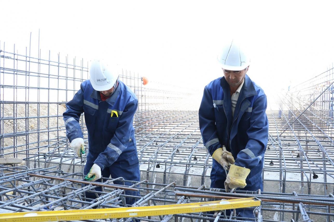 Стройплощадка завода