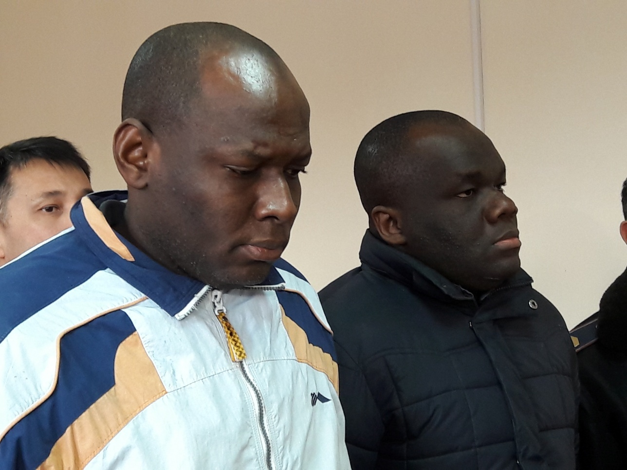 39-летний Нвоке Экендеричукву и 30-летний Оба Жозефат