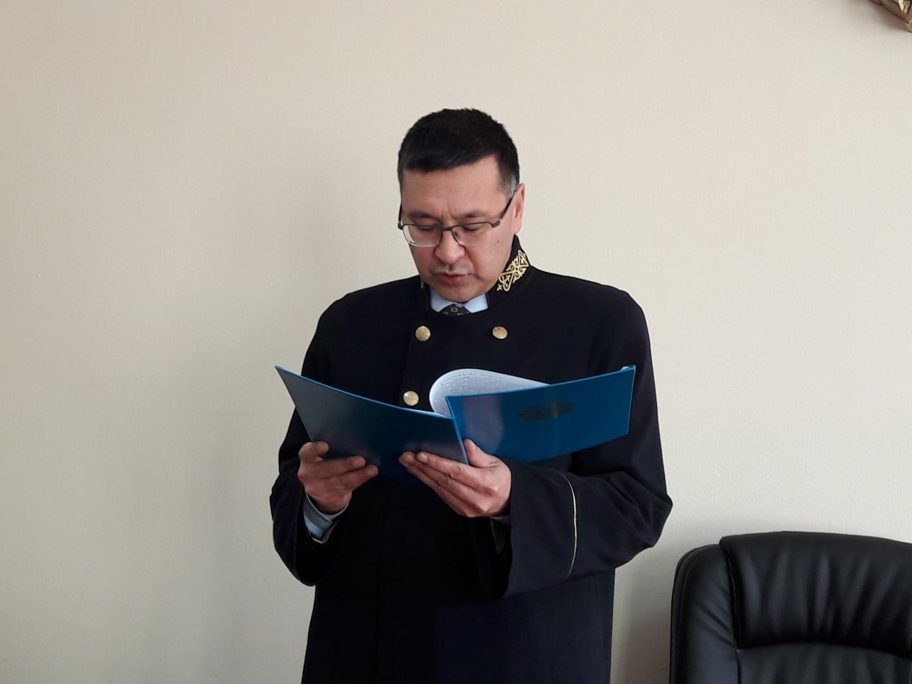 Судья Талгат Кахаров назвал этот процесс беспрецедентным