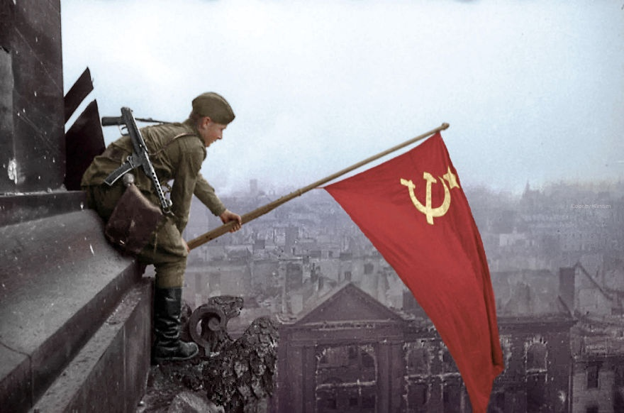 "Героев штурма Рейхстага ""назначил"" Джугашвили"