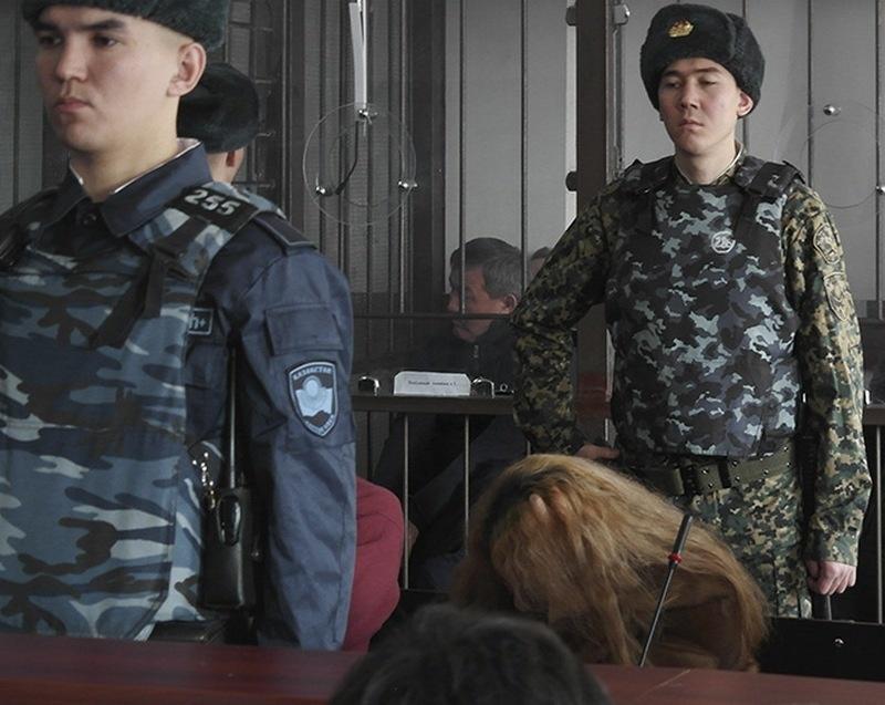 Амирхан Аманбаев на скамье подсудимых