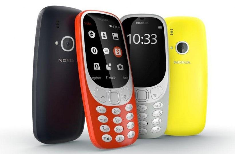 Новые Nokia 3310
