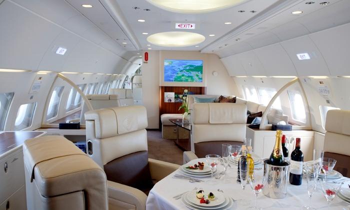 Бизнес-джеты авиакомпании популярны среди президентов