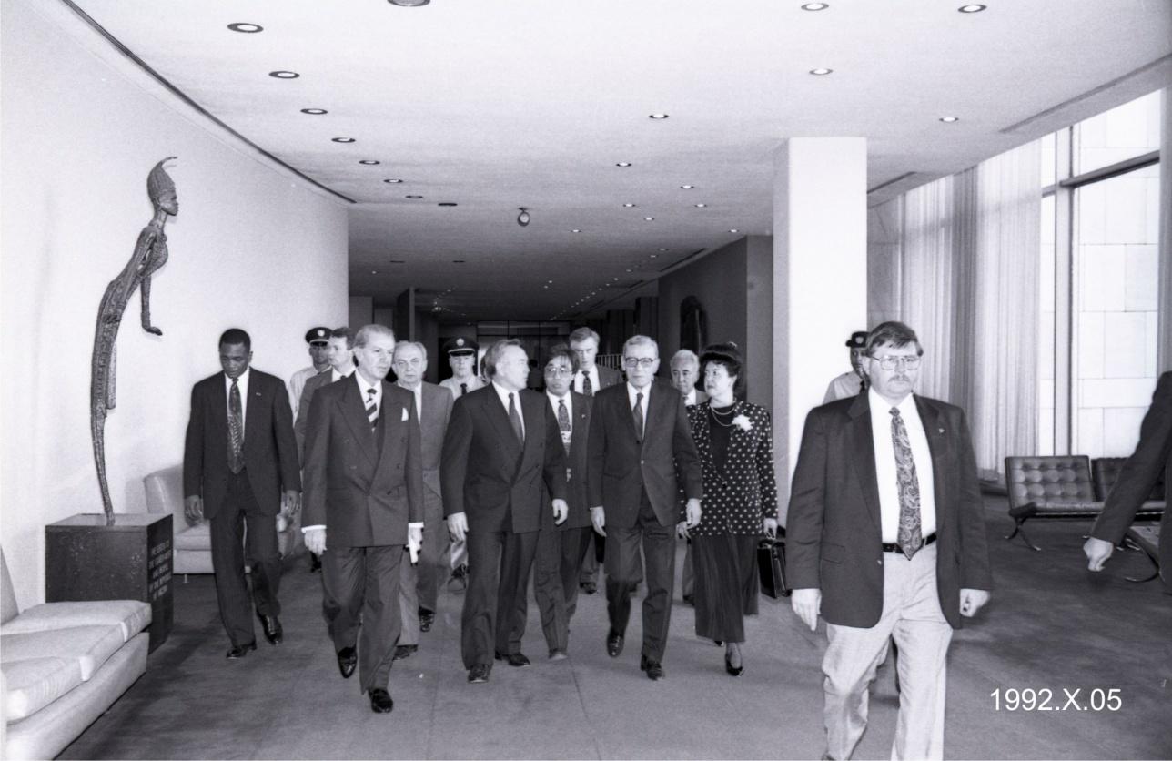 Дружбе ООН и Казастана 25 лет