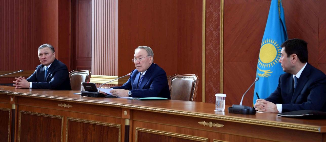 Президент на совещании в Карагандинской области
