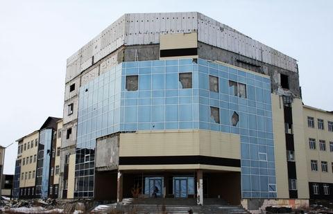 Здание в Экибастузе до сих пор ждёт - окончания строительства, или же сноса