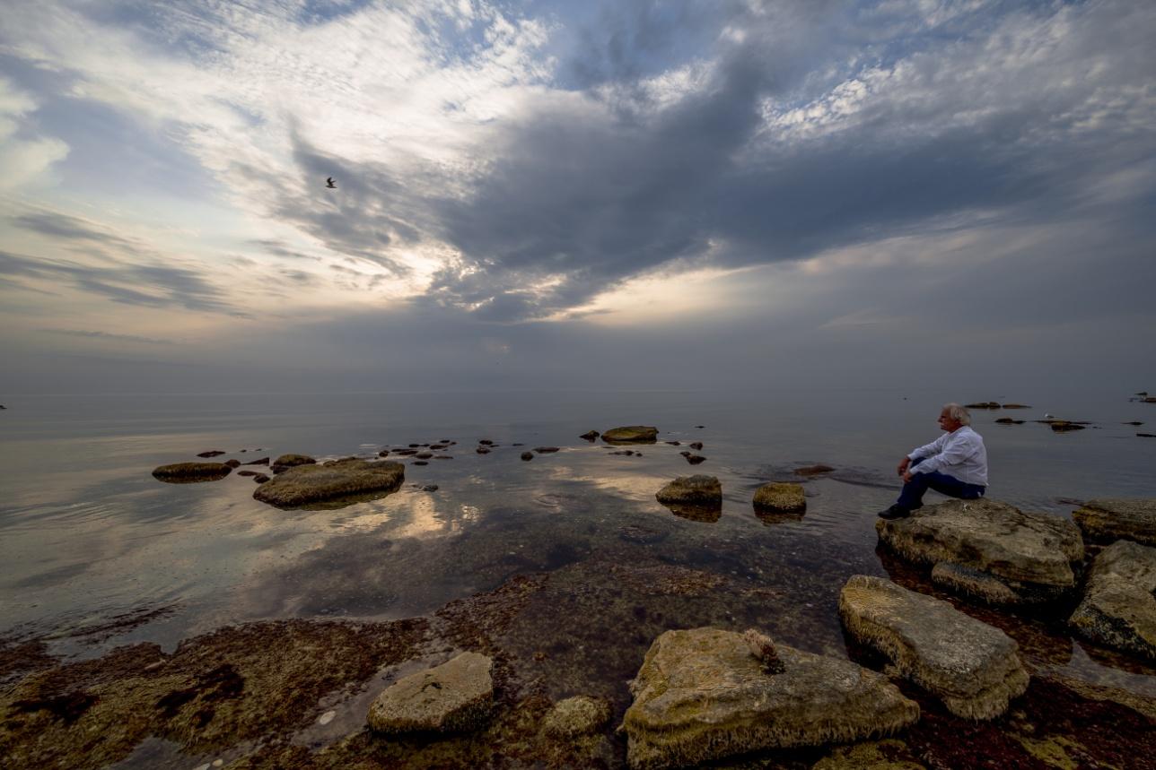 Штиль на Каспийском море