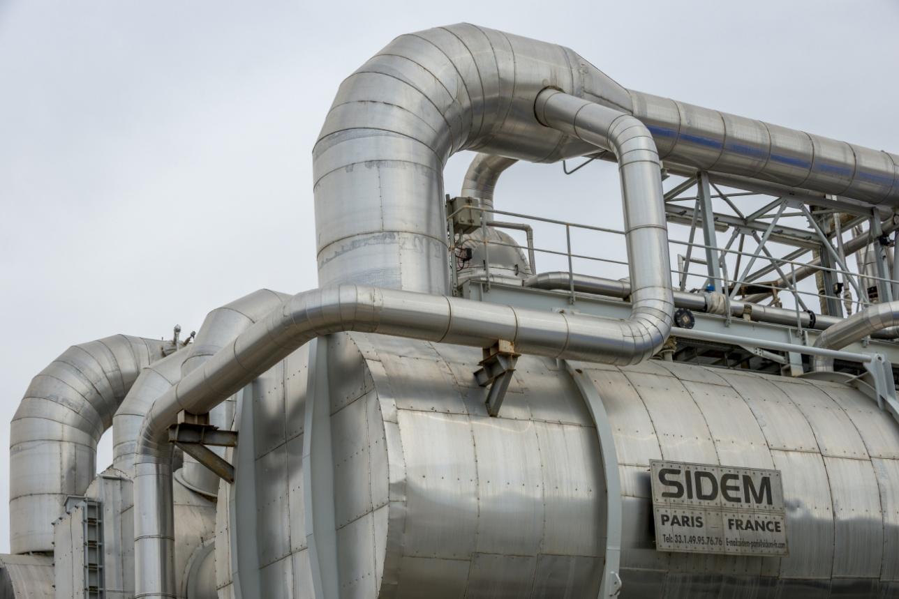 Опреснительная установка производства французской компании SIDEM