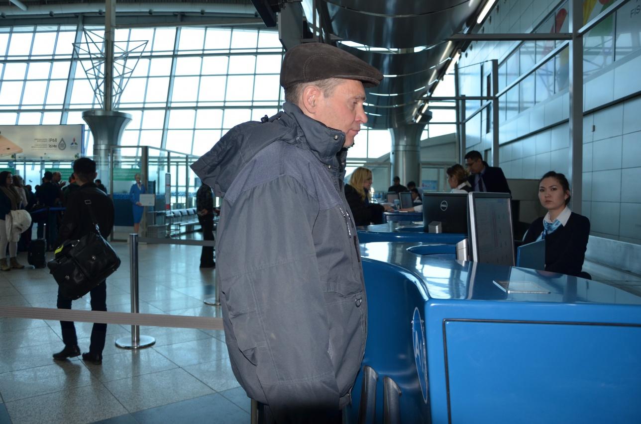 Юрий благополучно вылетел в Новосибирск, там его встретит брат