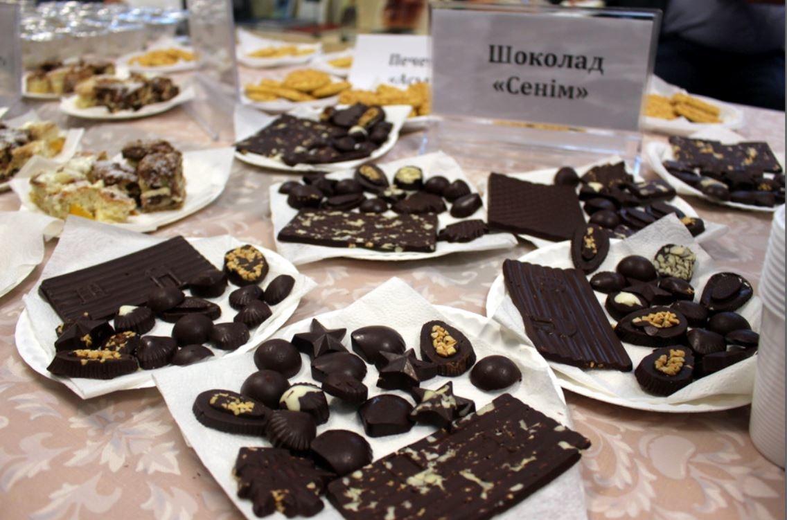 """Различные виды шоколада """"Сенiм"""" на основе кобыльего молока"""