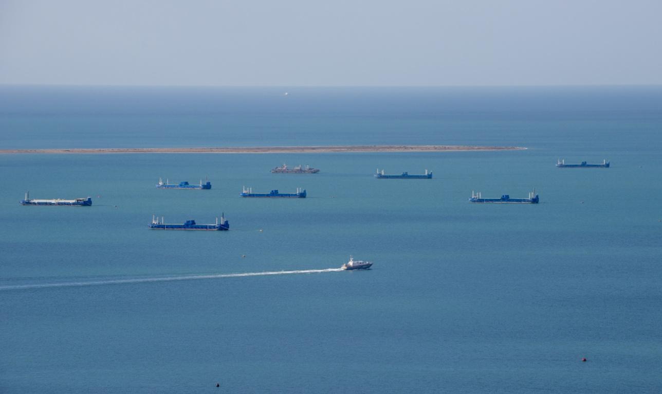 Вид на Баутинскую бухту