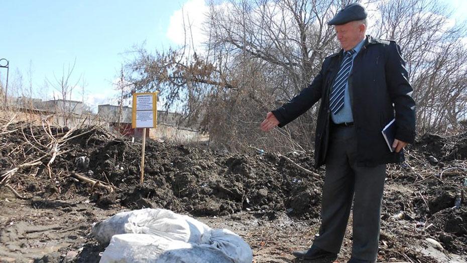 Экологи провели рейд по стихийным свалкам в Усть-Каменогорске