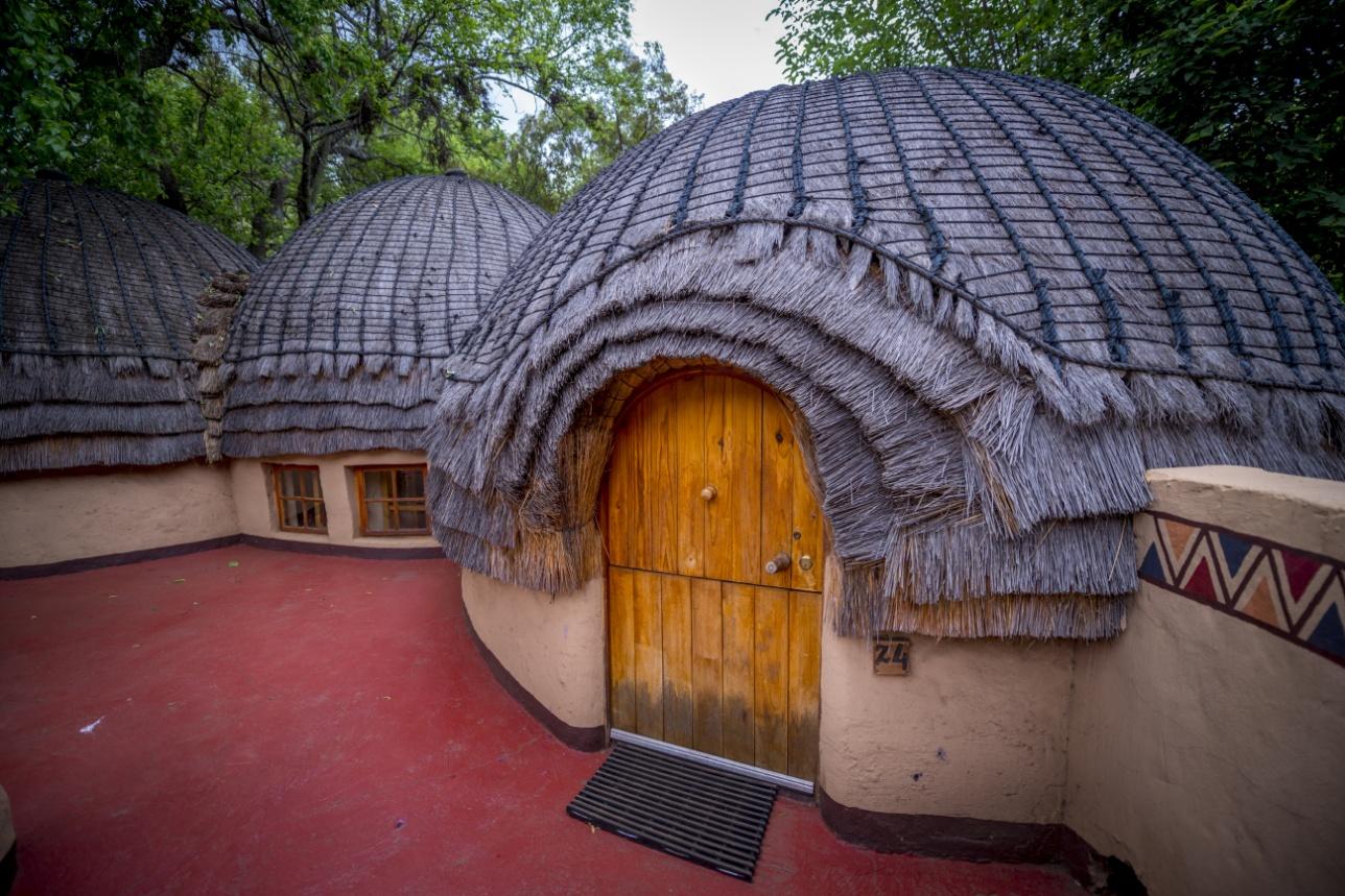 Традиционные жилища зулусов