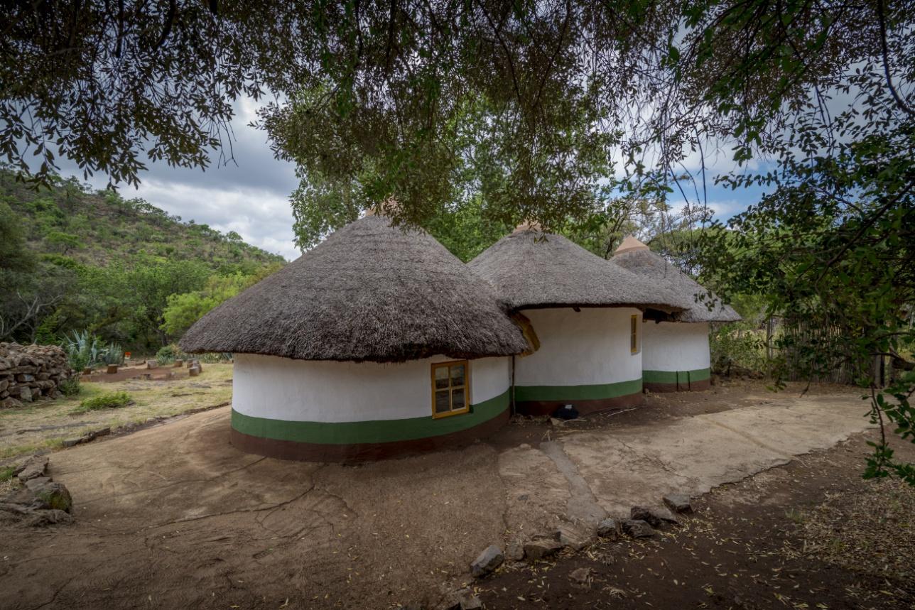 Традиционные жилища племён африканского Юга