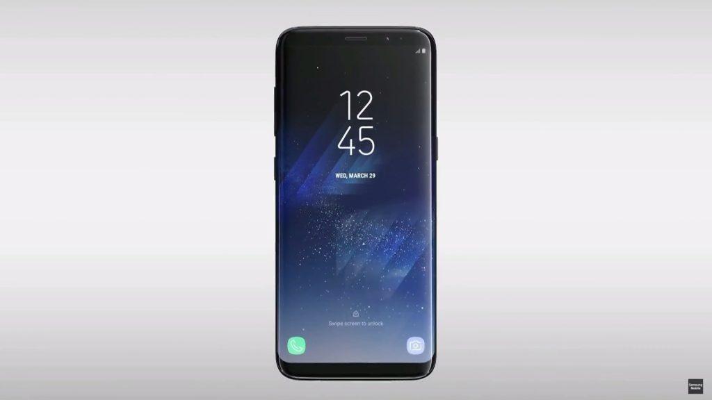 У новых смартфонов бесконечный дисплей
