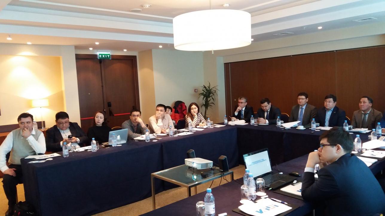 Встреча представителей КИРИ с журналистами в Астане