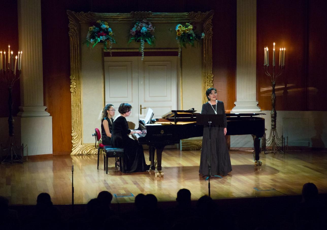 Выступление оперной дивы вызвало фурор в зале
