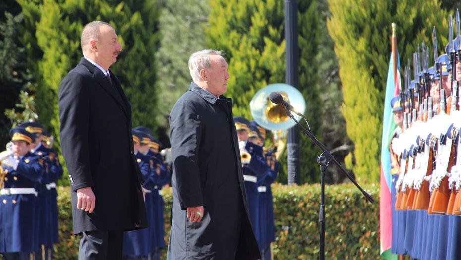 Визит Нурсултана Назарбаева в Азербайджан