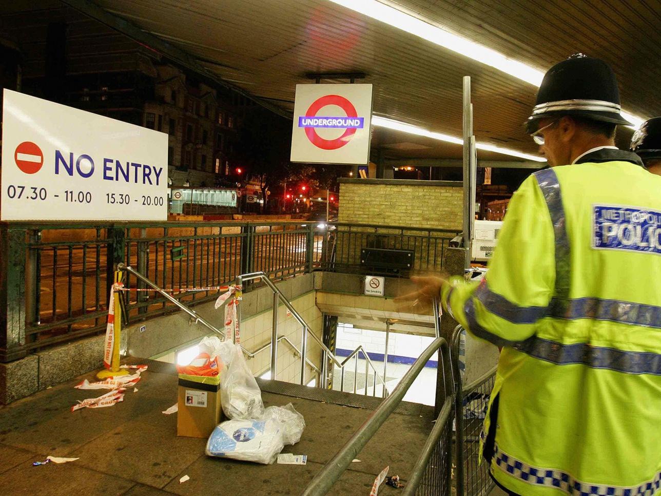 Теракт в метро Лондона. 2005 год