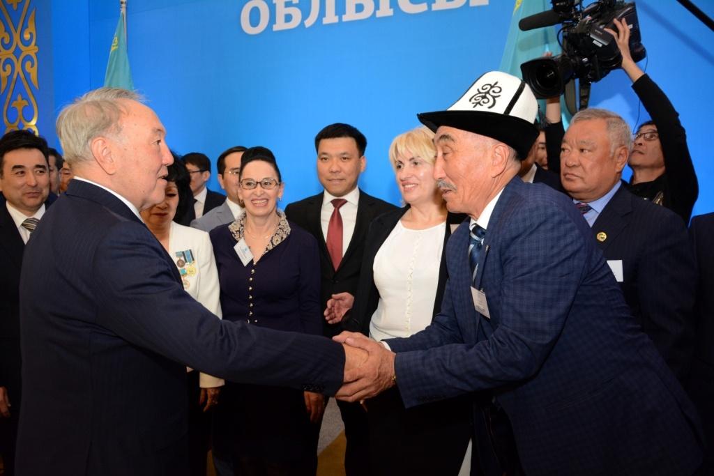 Нурсултан Назарбаев в Мангистауской области