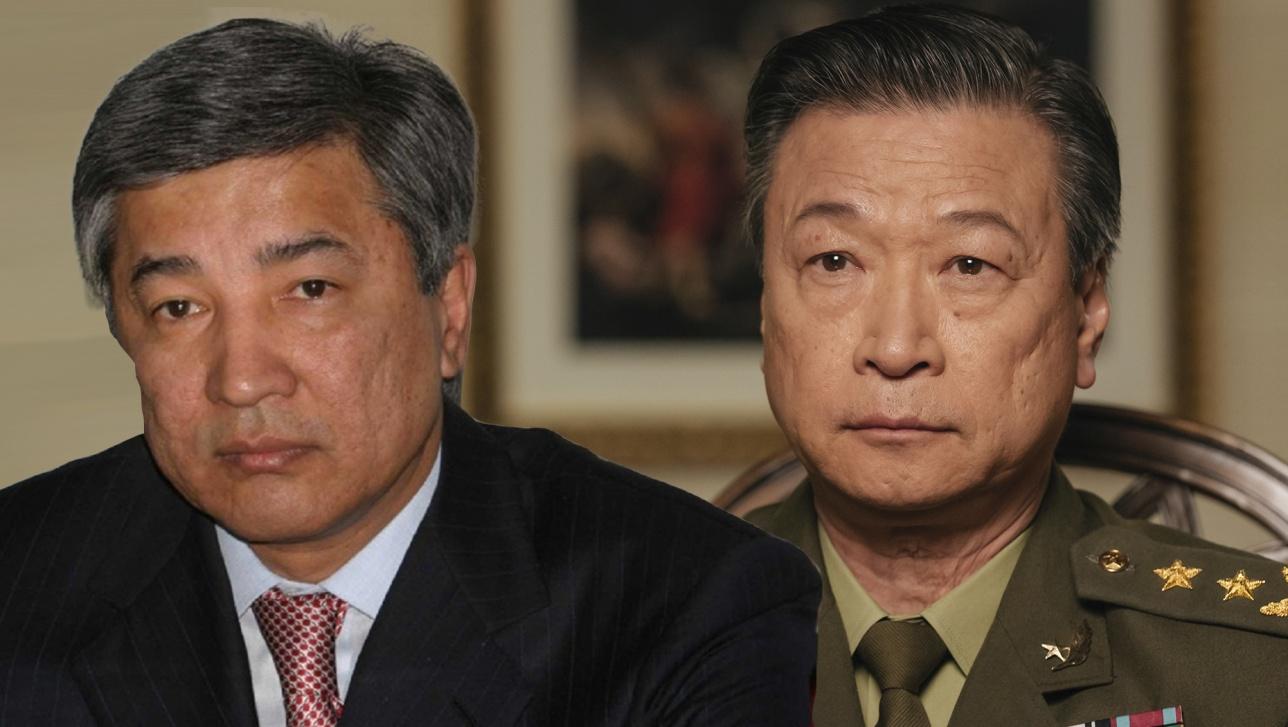 Посол Имангали Тасмагамбетов и актёр Ци Ма