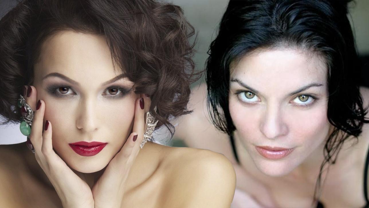 Певица Лидо и актриса Алана де ла Гарза