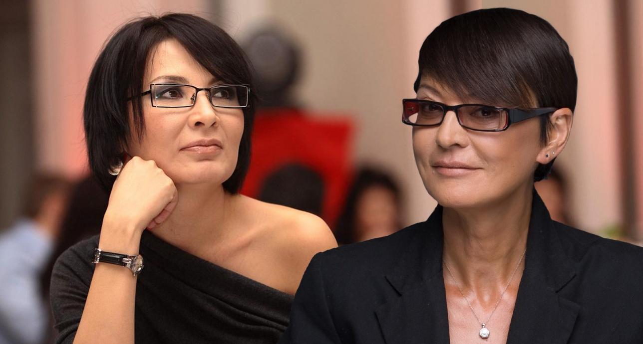 Телеведущая Дина Егеубаева и политик Ирина Хакамада