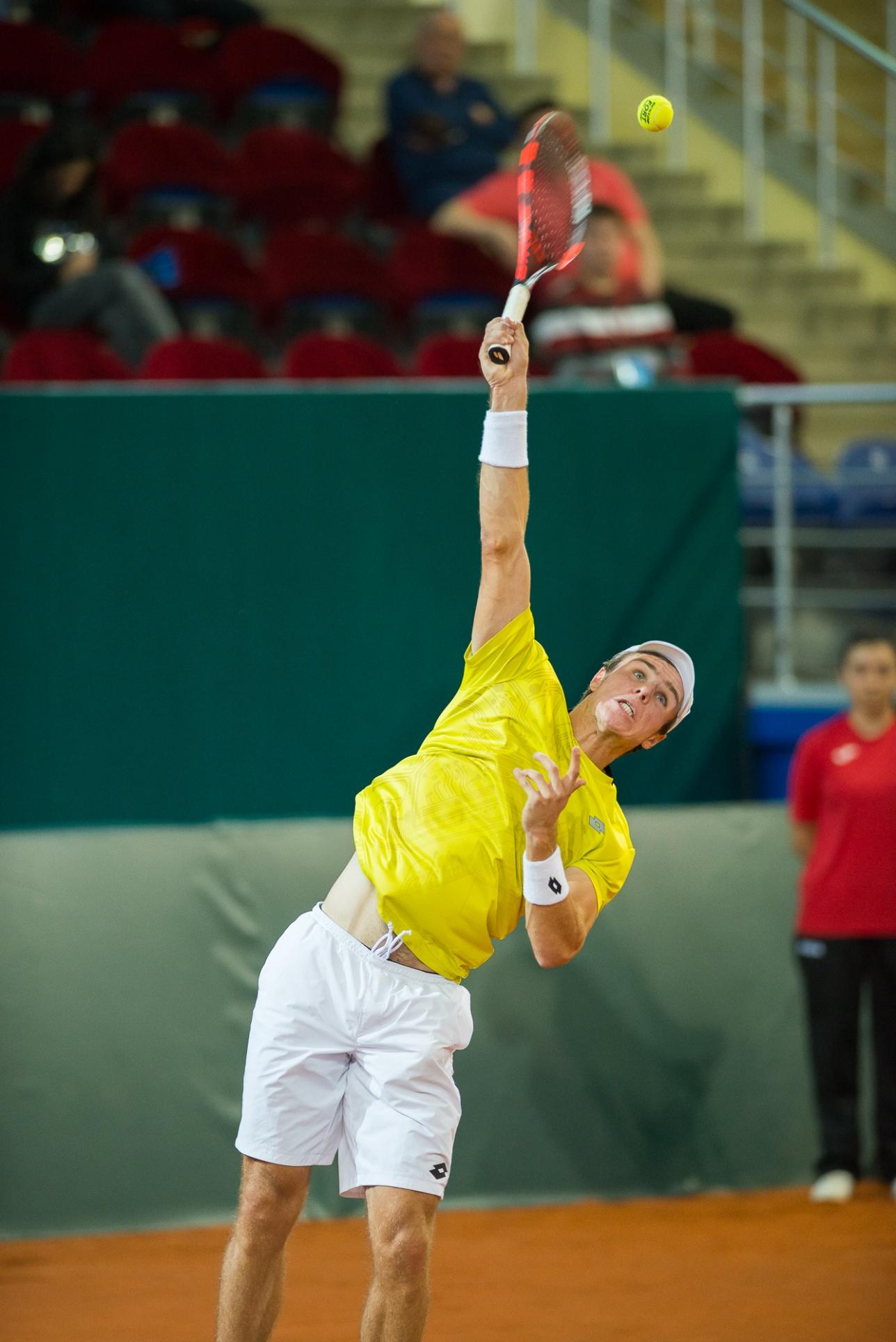 Добил же Китай дебютант Дмитрий Попко, одержавший вторую яркую победу в Кубке Дэвиса - 6:7, 7:5, 7:6