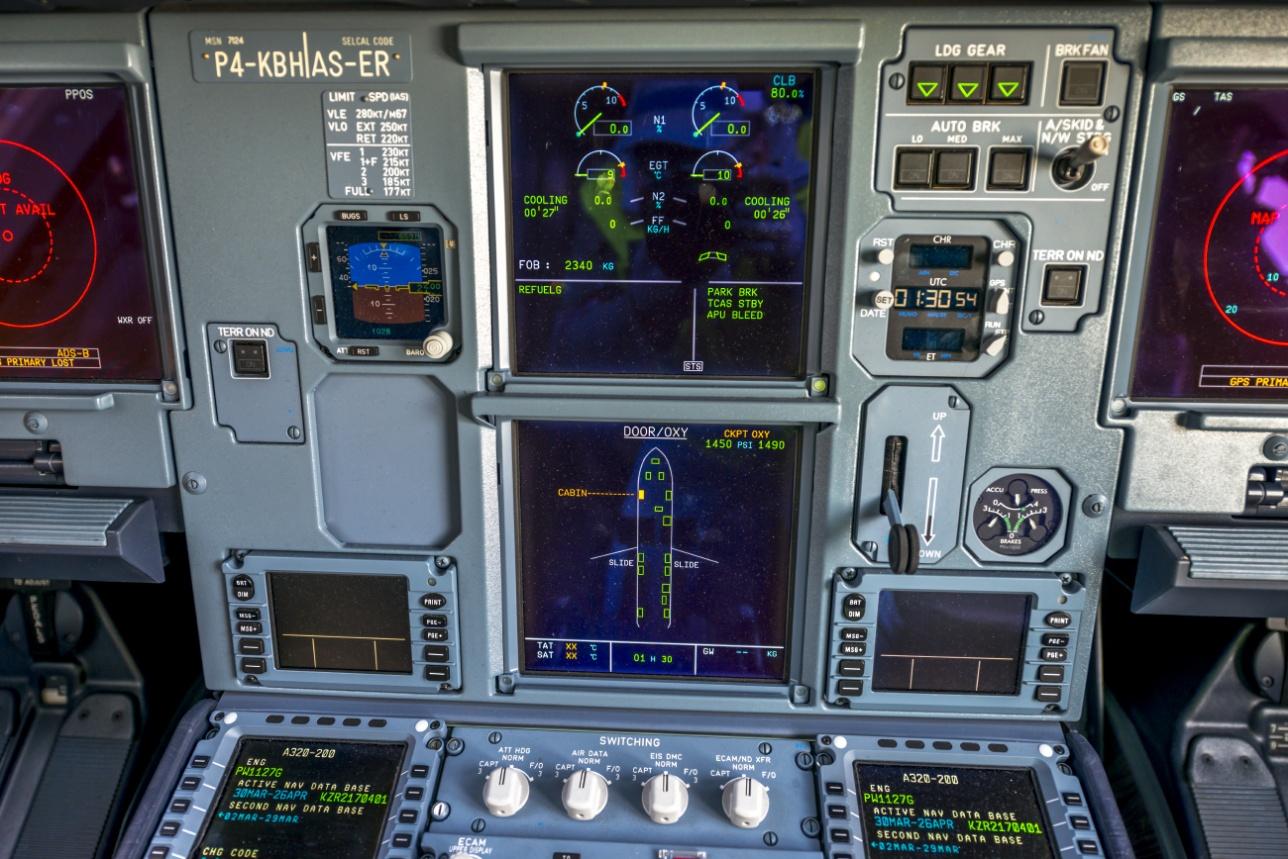 цифровая приборная панель A320neo