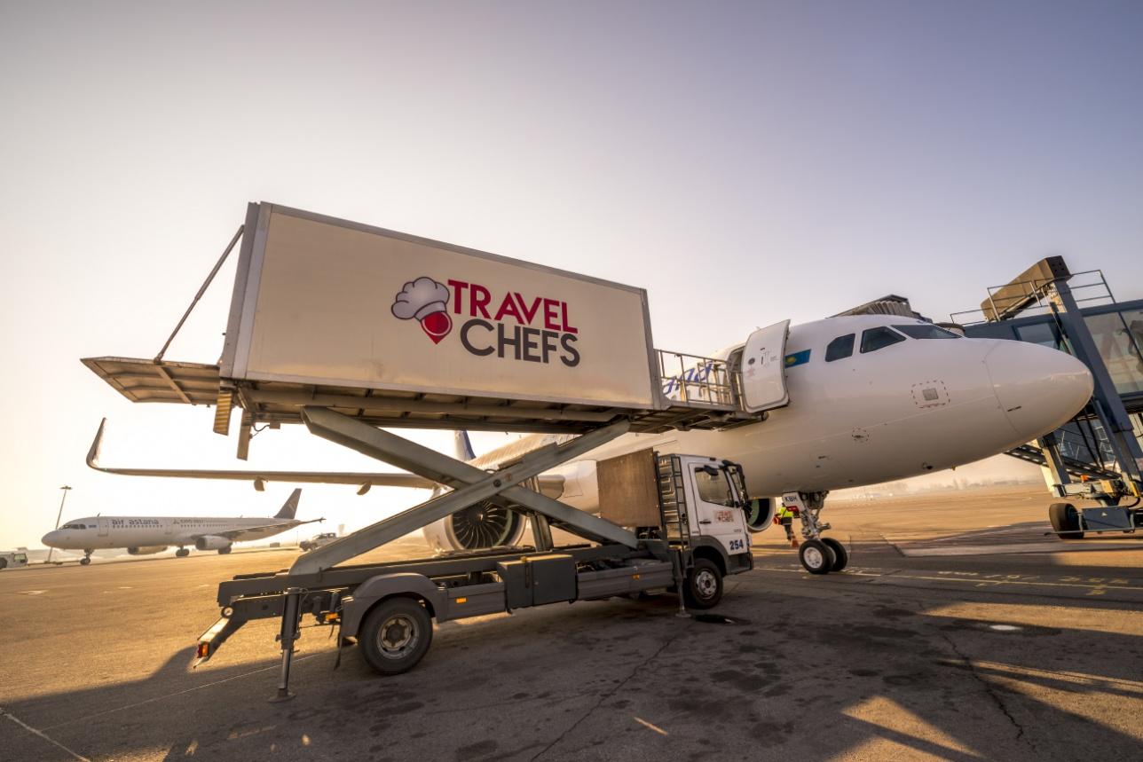 загрузка бортового питания в A320neo
