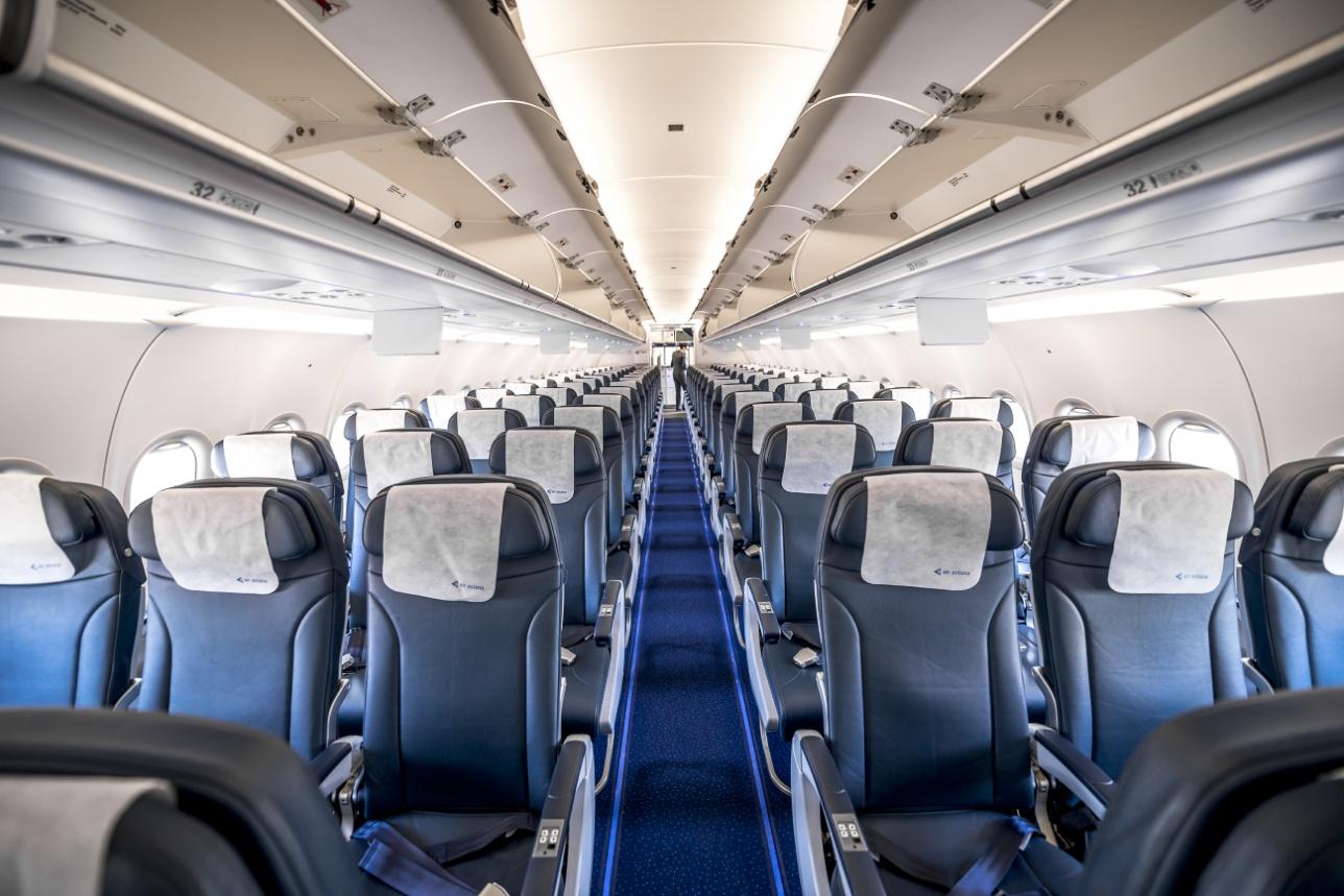 пассажирский салон A320neo