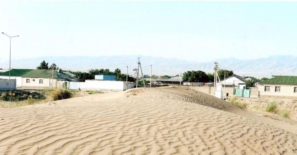 Подвижные пески пришли в населённые пункты Туркменистане