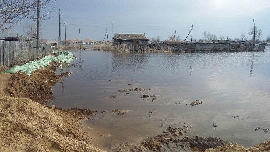 Жителей села Бескарагай затопило