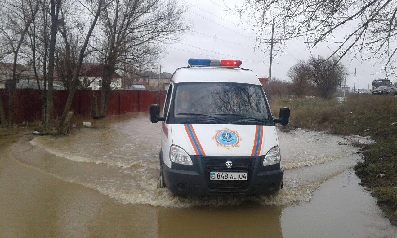 16 апреля, Актюбинская область, эвакуация людей