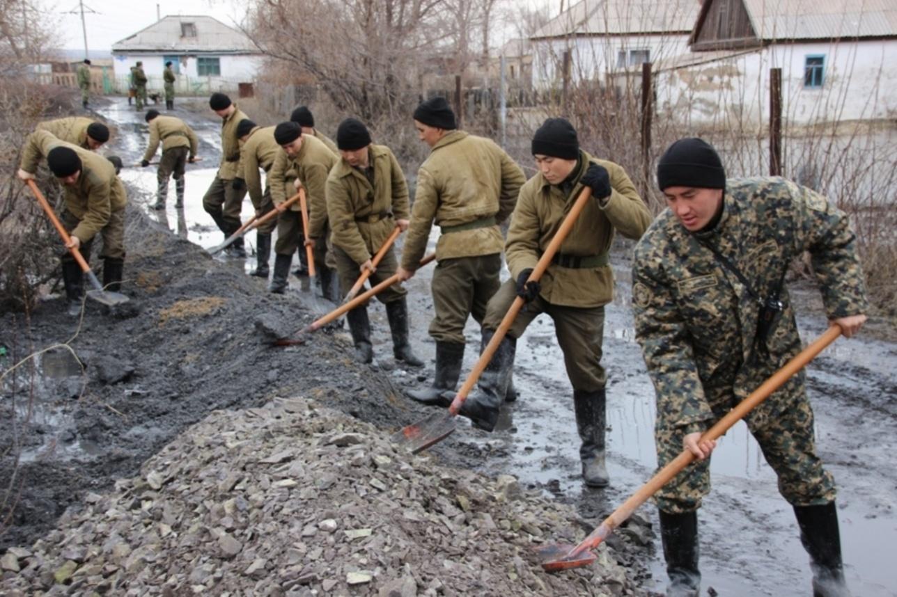 Противопаводковые мероприятия в Карагандинской области