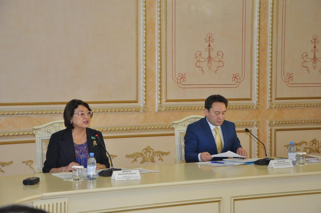 В Павлодаре прошло выездное совещание сенаторов