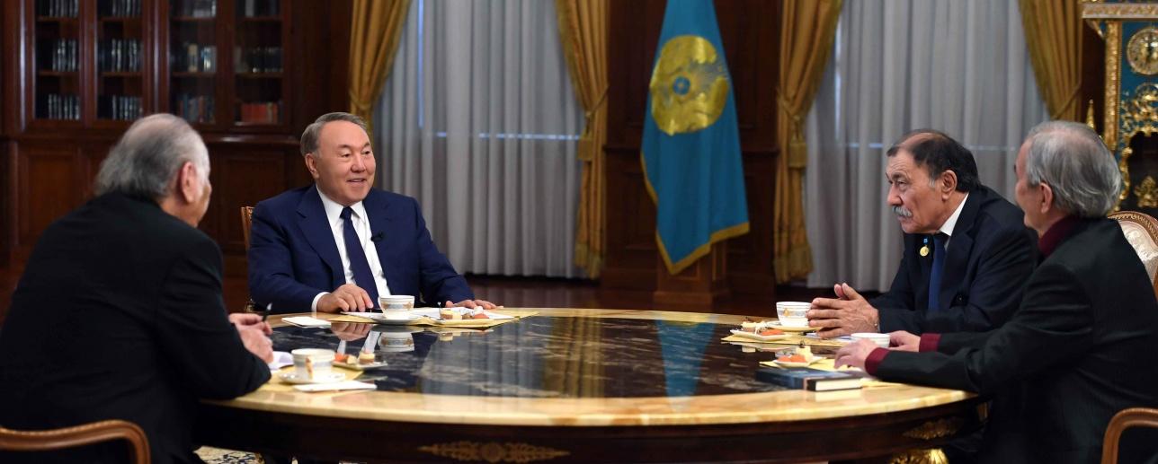 Встреча с представителями творческой интеллигенции Казахстана