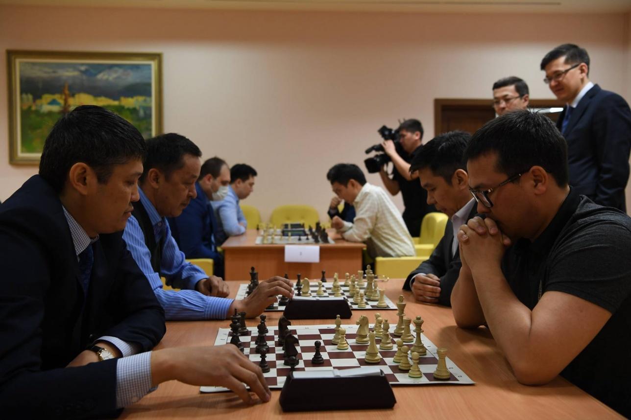 В Акорде прошёл турнир по шахматам