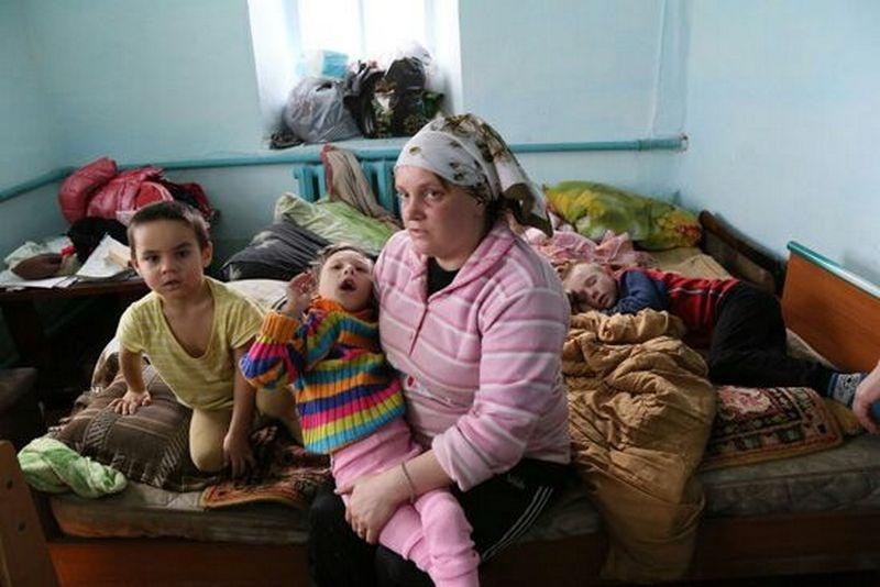Трое детей Бредихиных сильно заболели