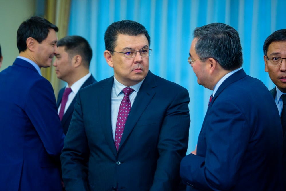 Министр энергетики Канат Бозумбаев