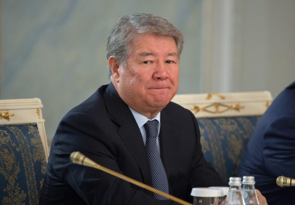 Глава нацкомпании «Астана-ЭКСПО» Ахметжан Есимов