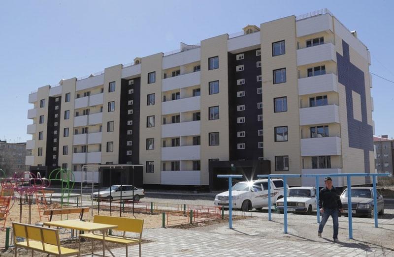 5-этажные дома для переселенцев из посёлков