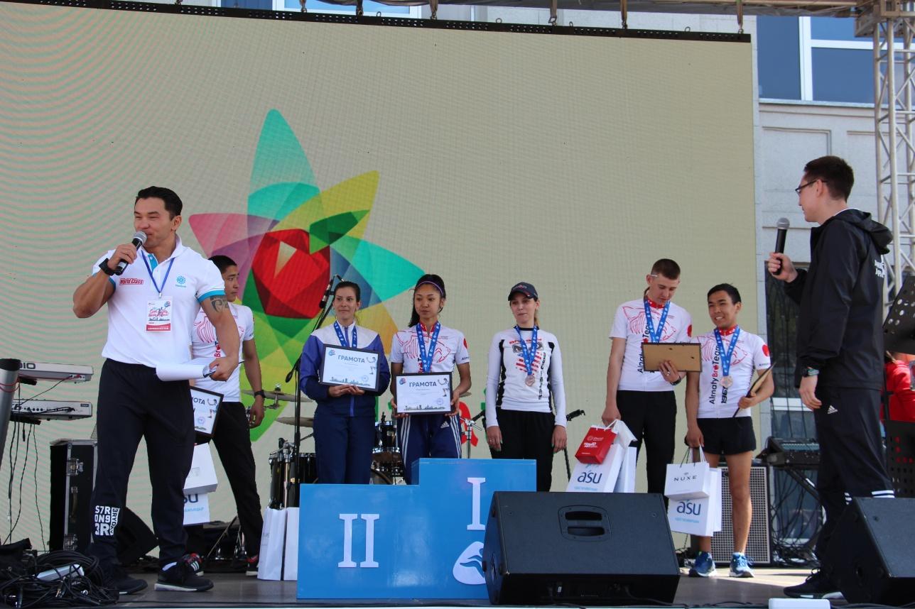 Победители, преодолевшие дистанцию 21 км