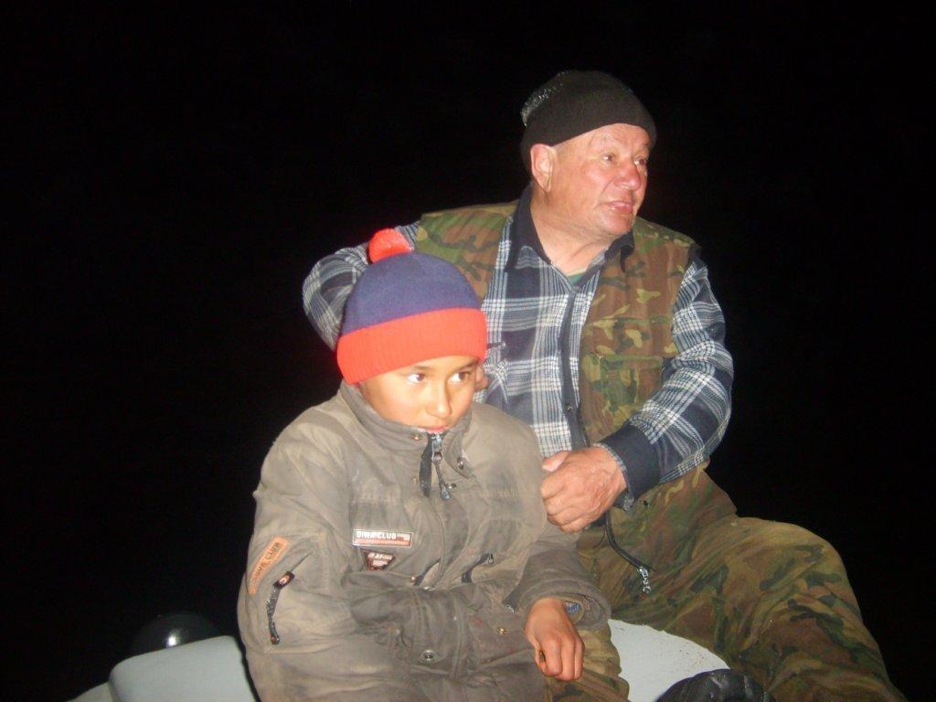Тургун Рахметов с сыном